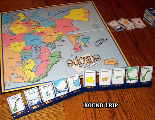 Amazon.com: 10 Days in The USA Board Game: Out of the Box ...