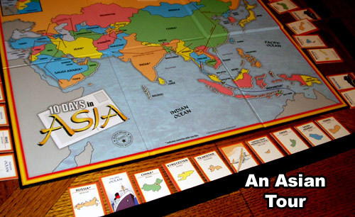 Map Of Asia Review Game.Review Of 10 Days In Asia Rpgnet Rpg Game Index