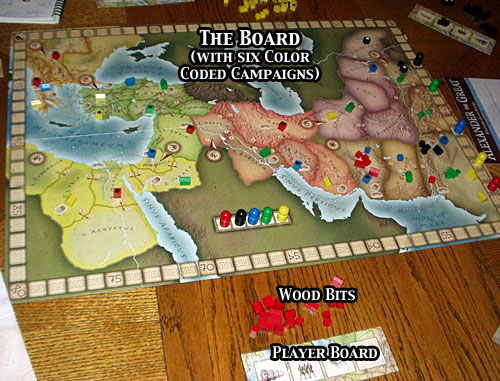Alexander the Great (board game)