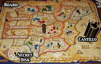Review of el grande rpgnet rpg game index el grande comes with 1 game board gumiabroncs Images