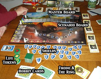 Lord Of The Rings The Boardgame Sauron Battlefields ...