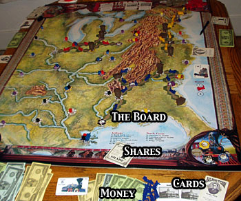 Review of Railroad Tycoon: The Boardgame - RPGnet RPG Game Index