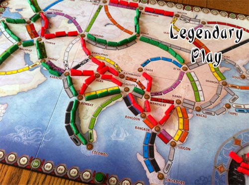 Review Of Ticket To Ride Map Collection 1 Asia Rpgnet Rpg Game