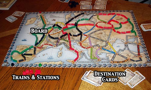 Review Of Ticket To Ride Europe Rpgnet Rpg Game Index
